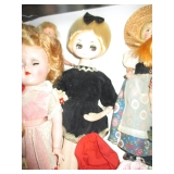 Vintage Dolls Shirley Temple, Ginnie, Mod and More