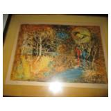 Tons of Vintage Art work, Artist Proofs, Lithographs and More