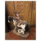 Monfort Ordinal Western Sculpture