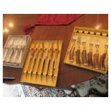Vintage Sheffield England Crown Crest Fork Set and so Much More