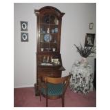 Compact Secretary Display/Bookcase