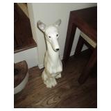 Greyhound Ceramic Dog