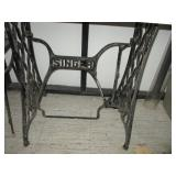 Singer Treadle Sewing Machine Stand