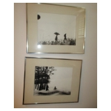 Listed Art Oils, Lithographs, Prints and Etchings