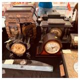 Many German clocks and so much more