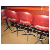 Vintage Bar Counter Swivel Seating Y & S Upholstery Inc