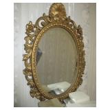 Ornate Gold Gilt Mirrors