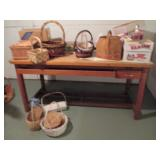 Drafting Table & Baskets