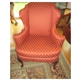 Baker Wing Chair Seating