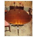 Henkel-Harris Stunning Mahogany Dining Room Suite