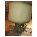 Vintage Tree Bark Style Lamp