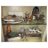 Many Serving Platters and more