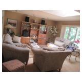 Stunning Klaussner Living Room Suite