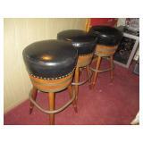 Three Barrel Bar/Counter Stools
