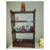 Ornate Accent Display Shelving