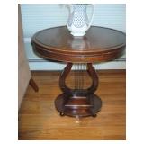 Mahogany Mersman Vintage Harp Tables