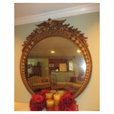 Stunning Antique Gilt Mirror Federal Eagle Mirror