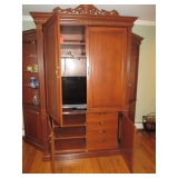Ethan Allen wall Unit Entertainment Cabinet