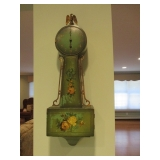 Decorative Banjo Hand Painted Clock