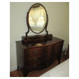 Many Flame Mahogany Antique Accent Furniture Separates