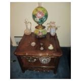 Vintage Beautiful Hurricane Lamps ~ Thomasville Tables