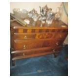 Antique Inlaid Separates