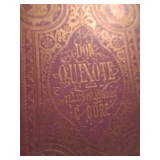 1869 Don Quixote Book With Providence