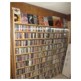 4000 CD'S and 1000 DVD'S