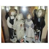 TONS of P. Buckley Moss Amish Dolls, Lithographs & More
