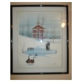 P. Buckley Moss Amish Lithographs