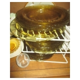 Depression Federal Glass Yellow