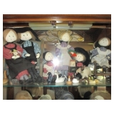 TONS of P. Buckley Moss Amish Dolls,