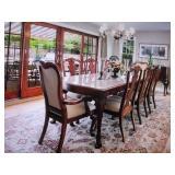 Thomasville Stunning Dining Room Suite