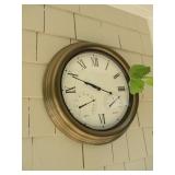 Outdoor Clock/Barometer