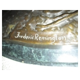 Collection Of Bronze Statues ~ By Frederic Remington