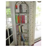 Etagere With Glass Shelves ~ Cookbooks