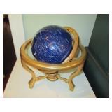 Gem Stone World Globe