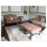 Arhaus Living Room Suite ~ RUGS