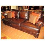 Natuzzi Leather Sofa Living Room Suite