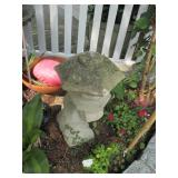 Many Concrete Outdoor Statuary