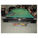 Gandi Pool Table with Extras