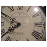 Firstime Mfg American Timekeeping Wall Clock Metro-North Railroad 42nd & Park