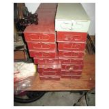 Lot Of Bank Safe Deposit Boxes