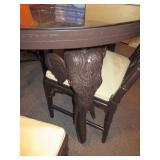STYLISH ELEPHANT LEG TABLE AND SEATING
