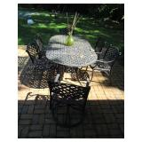 Stunning Cast Iron Patio Furniture Sets with Cushions