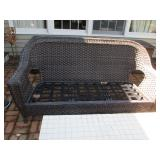 Outdoor Wicker Sofa Patio Suites with Cushions