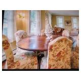 Six Zimmerman Dining Chairs Zimmerman Dining Table & Seating
