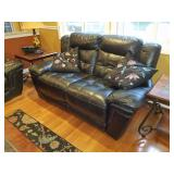 Love seat w/ recliners.