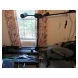 Quality exercise equipment including Nordictrack