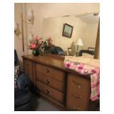 Mid-Century Dresser, Quilt, more